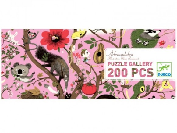 Djeco Puzzle Galerie Abracadabra (200 Teile)