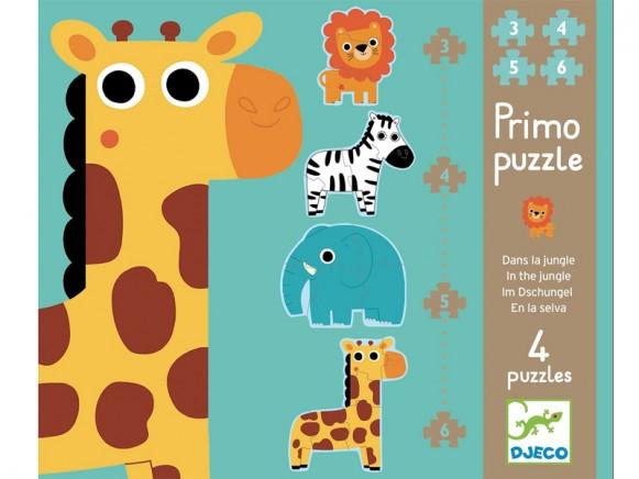 Djeco Puzzle Im Dschungel