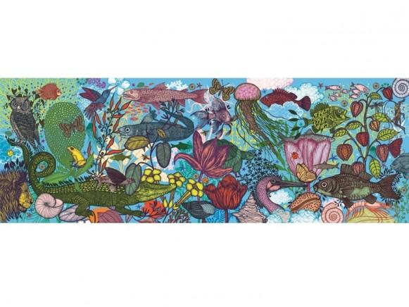 Djeco Puzzle Galerie LAND UND MEER (1000 Teile)