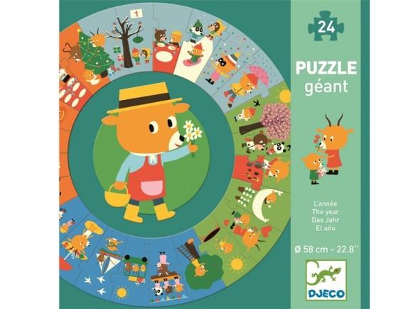 Djeco Boden-Puzzle DAS JAHR