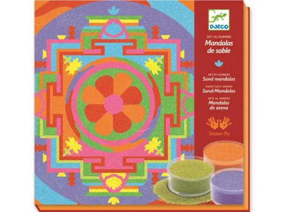 Djeco Sandbilder Tibetische Mandalas