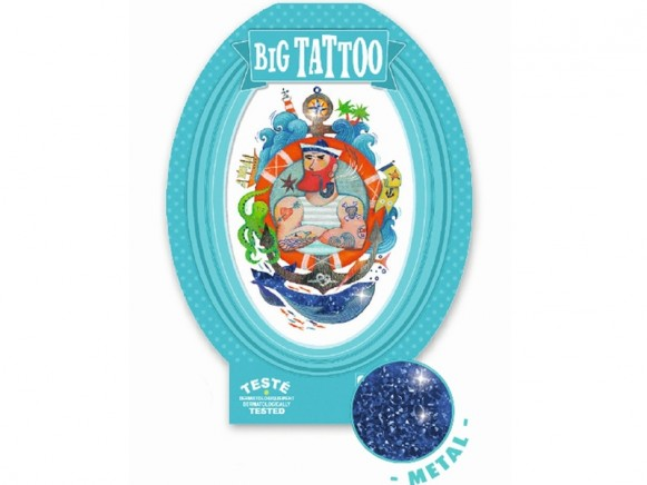 Djeco Riesen Tattoo MATROSE