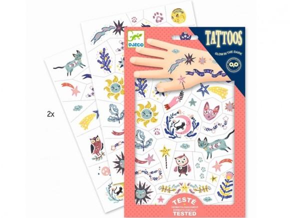 Djeco Tattoos SCHÖNE TRÄUME