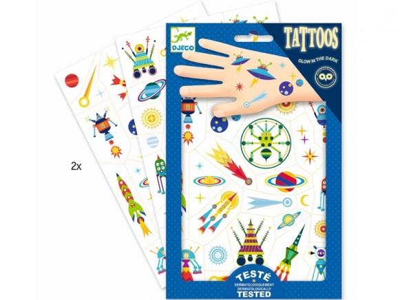Djeco Tattoos WELTRAUM