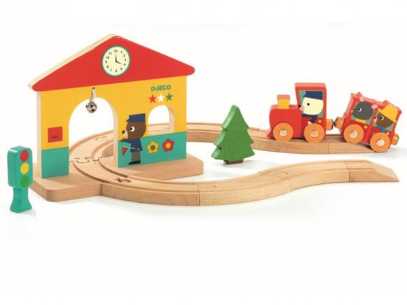 Djeco Mini Eisenbahn