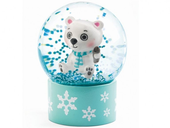 Djeco Mini Schneekugel EISBÄR