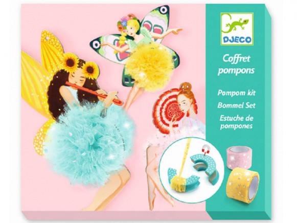 Djeco DIY Pompom Set FEEN