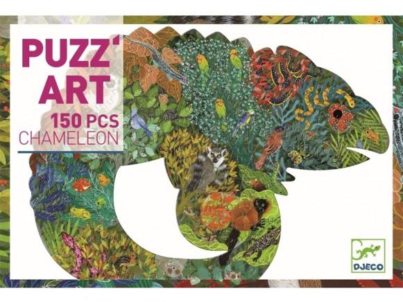 Djeco Puzzle Puzz'Art CHAMÄLEON (150 Teile)