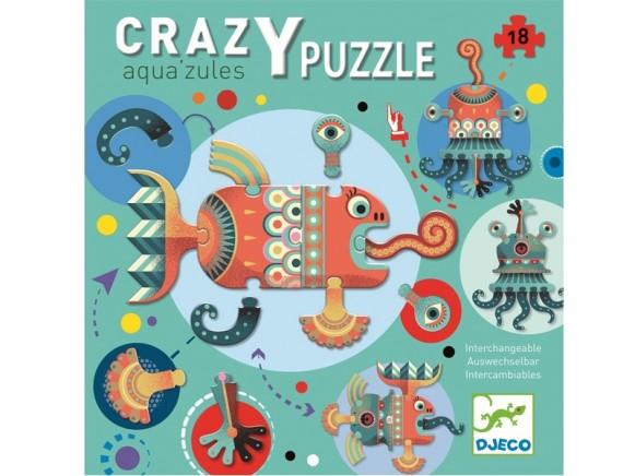 Djeco Boden-Puzzle AQUA'ZULES