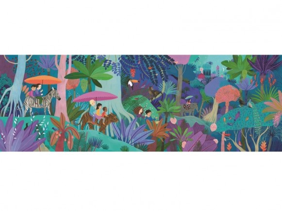Djeco Puzzle Galerie KINDER SPAZIERGANG (200 Teile)
