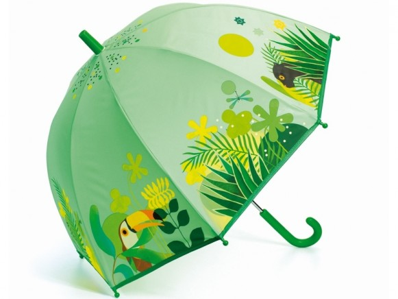 Djeco Regenschirm für Kinder DSCHUNGEL