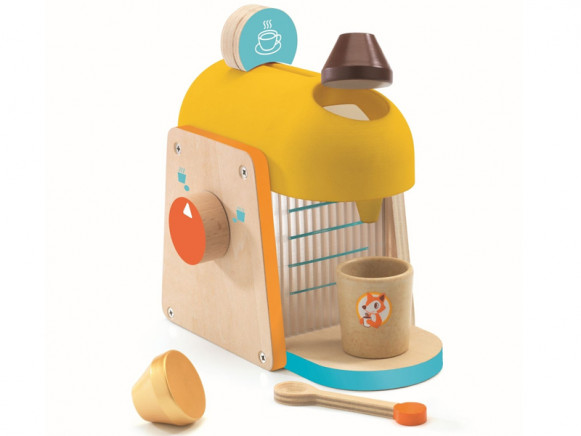 Djeco Rollenspiel Kinderküche Espresso-Maschine