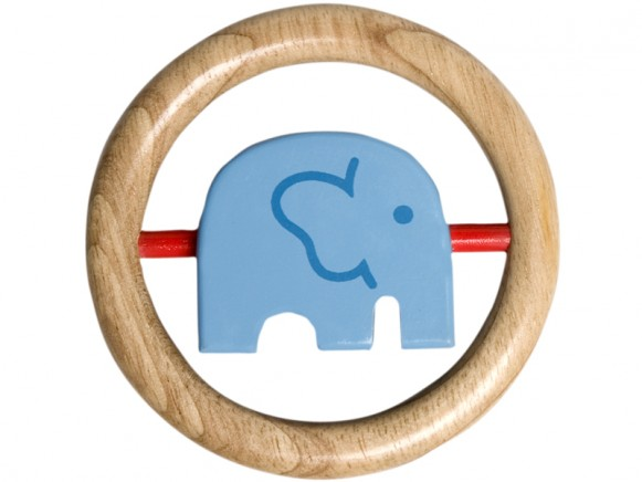 Franck & Fischer Rassel mit blauem Elefant