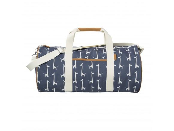 Fresk Weekender Tasche groß GIRAFFE dunkelblau