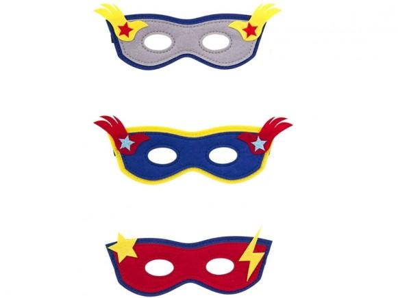 Global Affairs Filzmasken für Kinder SUPERHELD