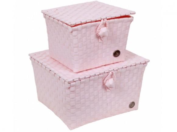 Handed By Korb Pisa puder-rosa