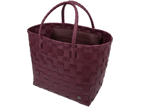 Handed By Safe Bag Shopper marsala-rot