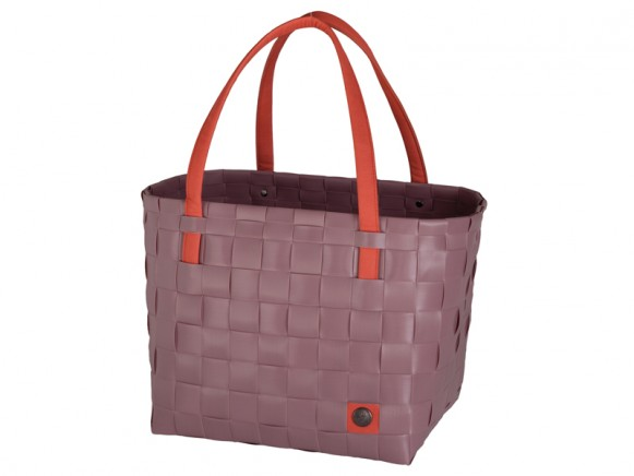 Handed By Shopper Color Block altrosa