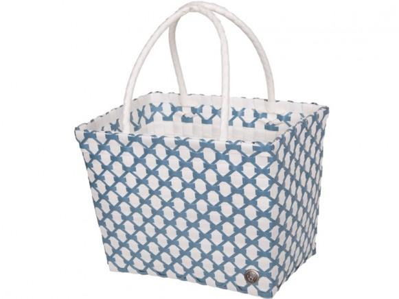 Handed By Shopper Havana weiß steinblau