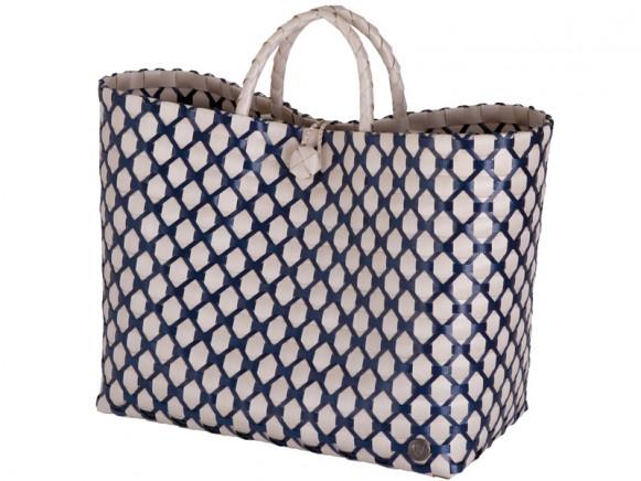 Handed By Shopper Lima blassgrau dunkelblau