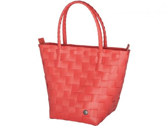 Handed By Safe Zip Shopper korallenrot