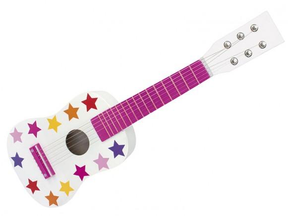 Jabadabado Gitarre Sterne rosa
