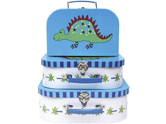 JaBaDaBaDo Kinderkoffer mit Dinosaurier