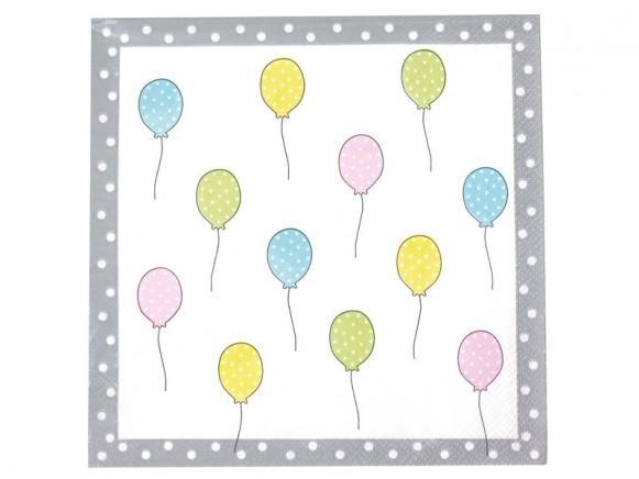 JaBaDaBaDo Papierservietten TIERE Pastellfarben