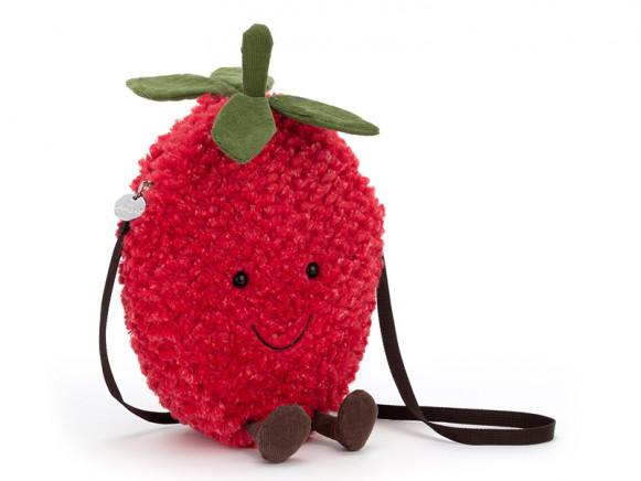 Jellycat Amuseable Kindertasche ERDBEERE