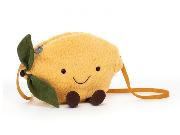 Jellycat Amuseable Kindertasche ZITRONE
