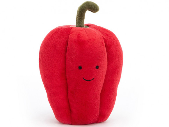 Jellycat Freches Gemüse ROTE PAPRIKA