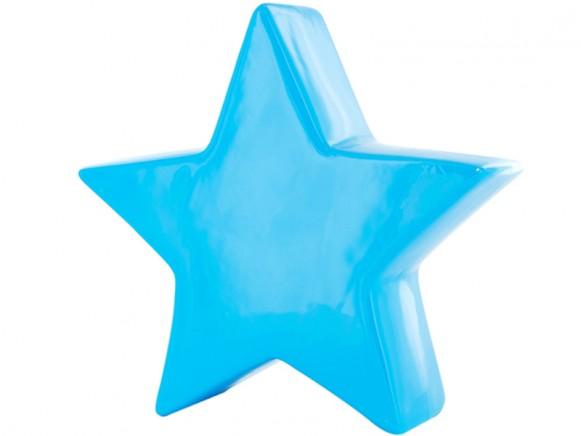 Stern Spardose in blau von J.I.P