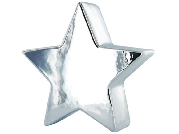 Stern Spardose in silbern von J.I.P