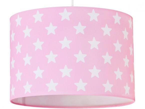Kids Concept Hängelampe Sterne rosa