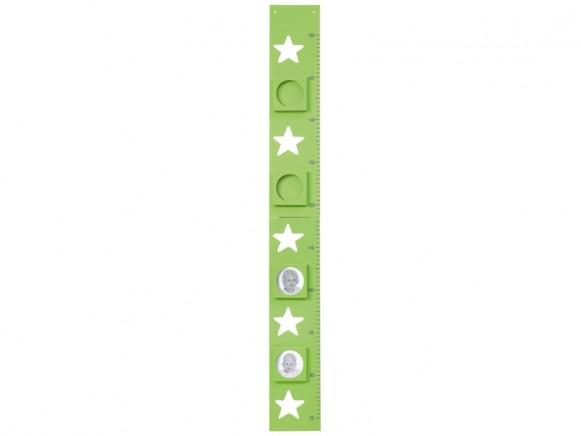 Kids Concept Messlatte Sterne grün
