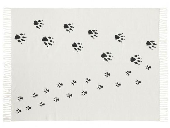 Kids Concept Teppich Tierspuren