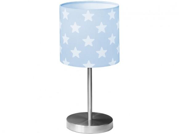 Kids Concept Tischlampe Sterne blau