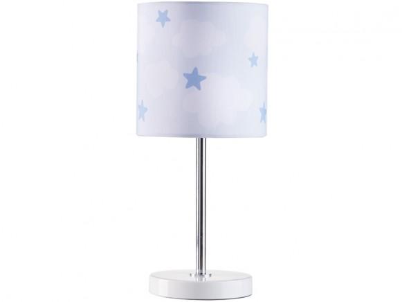 Kids Concept Tischlampe Wolken blau
