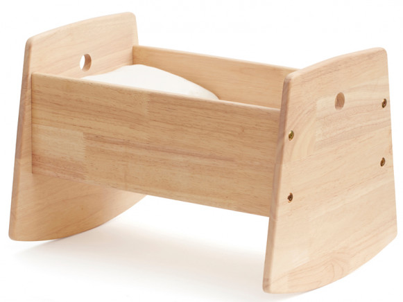 Kids Concept Puppenwiege Naturholz