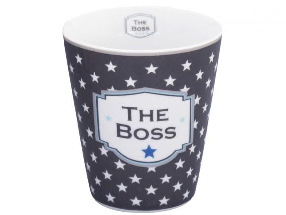 Krasilnikoff Becher Happy Mug The Boss