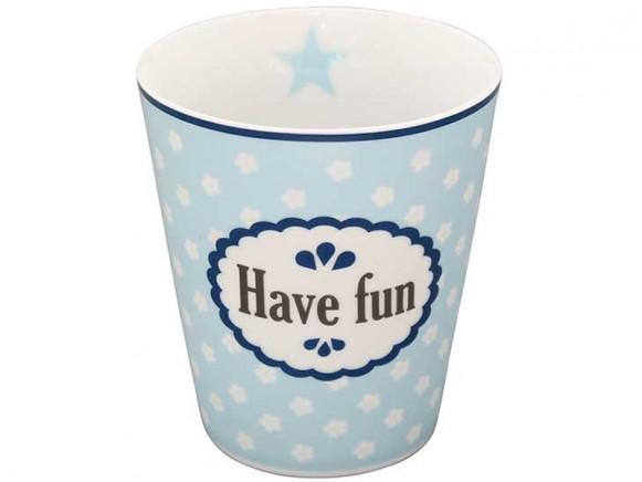 Krasilnikoff Becher Happy Mug Have fun