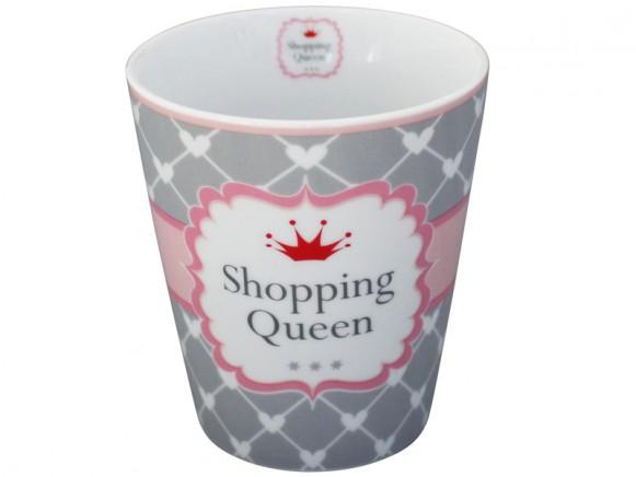 Krasilnikoff Becher Happy Mug Shopping Queen Herzen