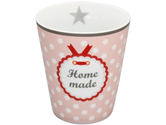 Krasilnikoff Becher Happy Mug Home made