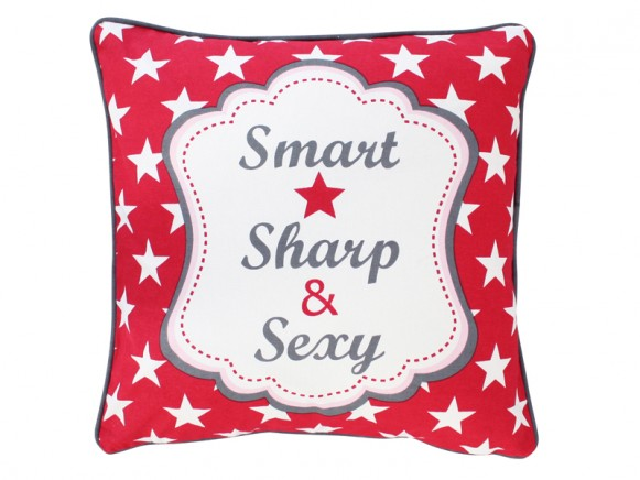 Krasilnikoff Kissenbezug Smart, Sharp & Sexy