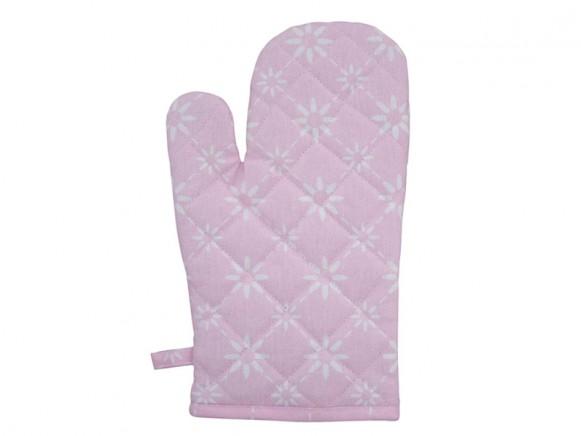 Krasilnikoff Ofenhandschuh diagonal pink