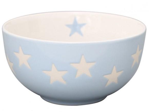 Krasilnikoff Brightest Star Schale Sterne hellblau