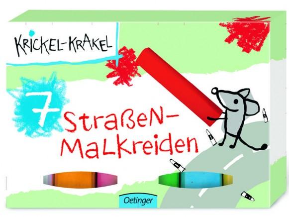 Krickel-Krakel Straßenmalkreide