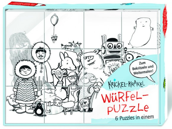 Krickel-Krakel Würfelpuzzle