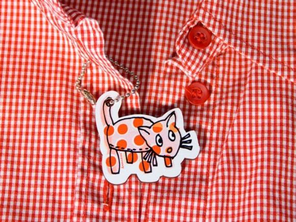 krima & isa Anhänger Katze
