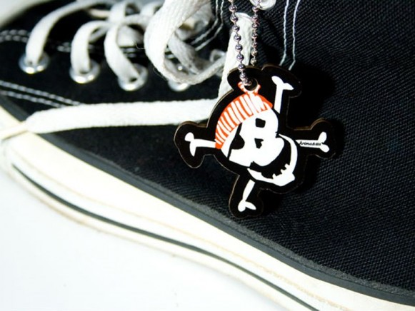 Motivanhänger mit Pirat von krima & isa